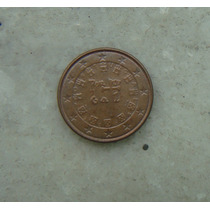 7797 - Portugal 1 Cent De Euro 2004, Sob, 16mm