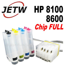 Bulk Ink Hp Pro 8100 8600 Com Chip Full Reset 950 951 Eaio