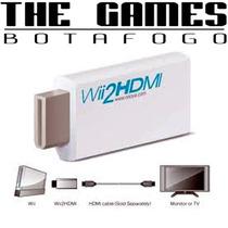 Wii2hdmi-adaptador Hdmi Para Wii Full Hd 1080p
