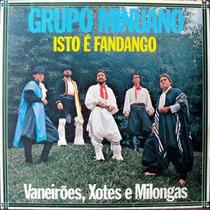 Lp Vinil - Grupo Minuano - Isto É Fandango - 1985 - Raro!!
