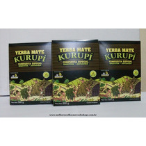 Erva Kurupi Kit Com 3 Uni + Bomba De Brinde Pacote C/500g