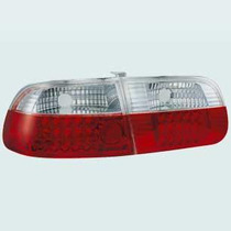Lanterna Traseira Cristal Do Honda Civic 1992-1995 Com Leds