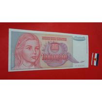 Yuguslávia: Cédula De 1 Bilhão De Dinara - 1993 - Fe.!!!!