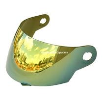 Viseira Tork Evolution 788 2g 3g Espelhada Gold Iridium