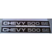 Plaqueta De Friso Lateral Chevy 500 Se-87- Mmf Auto Parts.