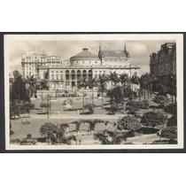 Foto Postal Antiga São Paulo Parque Anhamgabahú