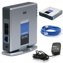 Pap2t-na Adaptador Ata Voip Linksys Cisco - Pronta Entrega