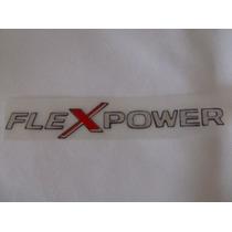 Emblema Adesivo Flexpower Resinado Corsa/celta/astra/montan