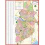 Mapa Geo Político Gigante Do Município De Osasco 1,20 X 0,90