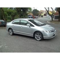 Honda Civic Si ,top De Linha,couro,mp3,rodas,revisado.