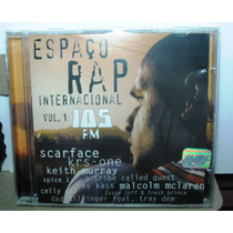 Funk Hip Hop Black Cd Espaço Rap Internacional105 Fm Vol 1