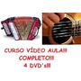 Acordeon E Violão Completo! 4 Dvd
