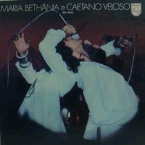 Caetano Veloso & Maria Bethânia Lp Nacional Usado Ao Vivo
