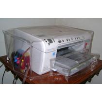 Capa Para Multifuncional Hp Officejet K550 - Transparente