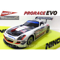 Autorama Ninco Mercedes Sls Gt3 Prorace Lightning Slot.it Ns