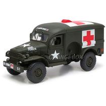 Caminhão Ambulance U.s 4x4 Unimax 1:32 80062