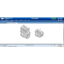 Motor Parcial - (2.5l Duratec) Flex 2012 Á 2013