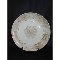 1558 - Médio Prato Alemão Déc De 60 Porcelana