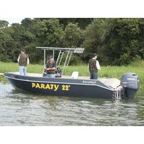 Barco De Alumínio Levefort Paraty 22