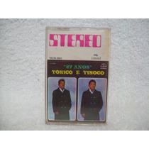 Fita Cassete Original Tonico & Tinoco- 27 Anos