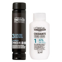 Loreal Kit Cover 5 Nº3 - 50ml & Oxidante (20 Vol. 6%) 75ml