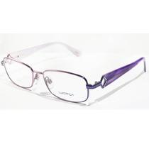 Armação Para Oculos Grau Luxottica Lu2274-b T408 Roxo