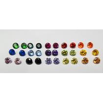Zirconias Coloridas 8 Cores Diferentes 20 Peças De 5mm