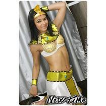Fantasia Egípcia / Cleopatra (adulto) - Performer Angels