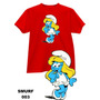 Camiseta E Baby Look Smurfs Adulto E Infantil