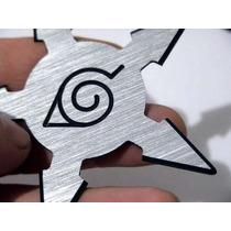 Shuriken Estrela Ninja Para Brincar De Naruto, Aço Escovado