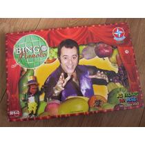 Jogo Bingo Do Manolo - Da Novela As Filhas Da Mãe Tv Globo
