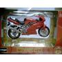 Burago - Moto Ducati Supersport 900 Vermelho