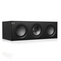 Kef Q600c Black! Caixa Acústica Central, 150w Em 8 Ohms