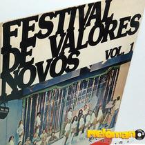 Va 1978 Festival De Valores Novos Vol 1 Lp Mário Vendramel