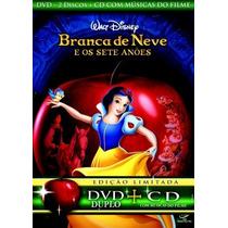 Branca De Neve E Os Sete Anões * Dvd Duplo + Cd * W. Disney