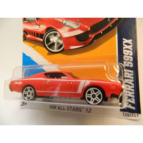 Hot Wheels Ferrari 599xx 2012 1:64 Erro De Cartela