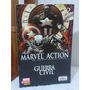 Hq Guerra Civil Marvel Action Nº12 Marvel Panini Comics