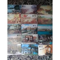 50 Cartões Diferentes Da Série Museus Telebrás- Compre Já