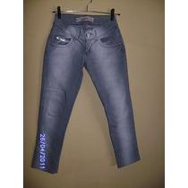 Ca052 - Calça Jeans Com Stretch Manequim 36 Rafitty