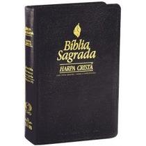 Bíblia Sagrada C/ Harpa Cristã Letra Grande, Notas E Referên