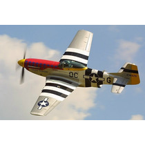 Planta Do North American P-51 Mustang Gigante Giant