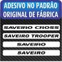 Adesivo Saveiro Cross   Trooper   Saveiro - Frete Grátis!!!