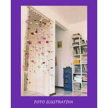 Frete Grátis Cortina: Miçangas E Flores Artesanato Primavera