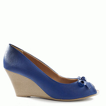 Anabela Feminina Número Grande Sapato Show Ana707