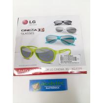 Oculos Lg 3d Original Ag-f315 Kit 4 Oculos Cinema (novo)