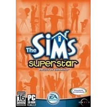 Game Pc The Sims Superstar - Cd-rom - Pacote De Expansão