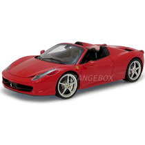 Ferrari 458 Spider 1:18 Hot Wheels Elite W1177