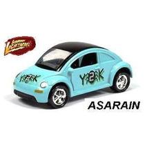 Jl - Vw - New Beetle Y2k Azul - 1/64