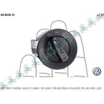 Interruptor Farol Milha Gol G3 G4 Polo Golf 98/10 Original