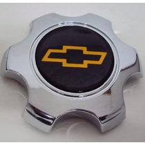 Centro De Roda Da S10 E Blazer 6 Furos Exec Original Cromada